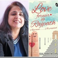 Book review: Love forever @ Rajpath by Kalpana Mishra