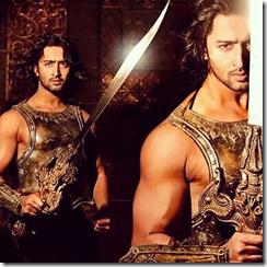 Shaheer Sheikh as Arjuna Mahabharata